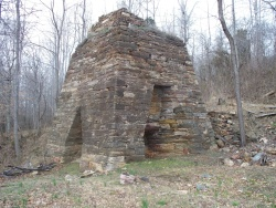Madison Cold-blast Charcoal Furnace, Built in 1809